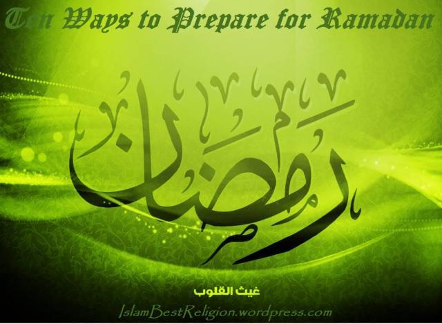 Ramazan Preparations