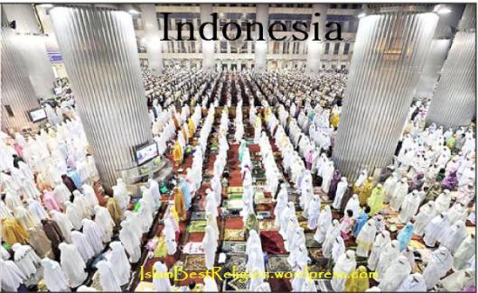 Taraweeh in Indonesia
