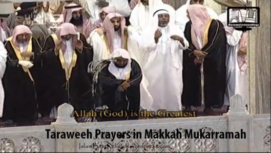 Taraweeh in Makkah